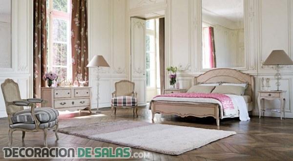 Dormitorios de estilo clásico y muy lujosos