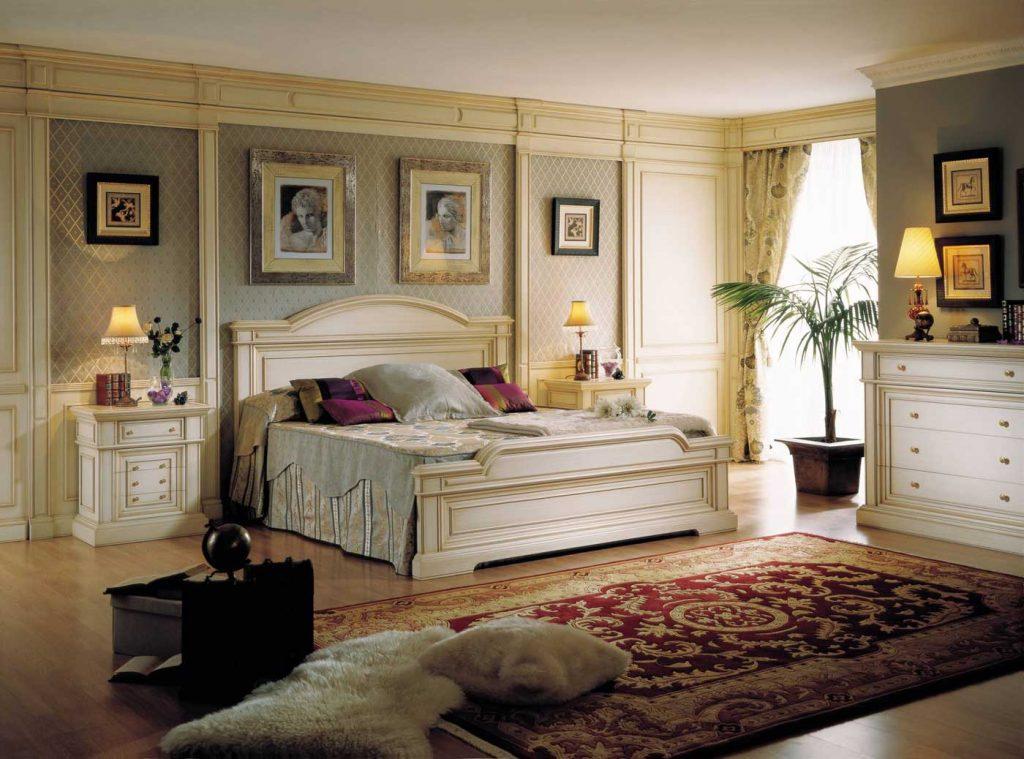 dormitorio luminoso estilo clasico
