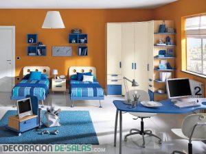 Ideas modernas de dormitorios dobles