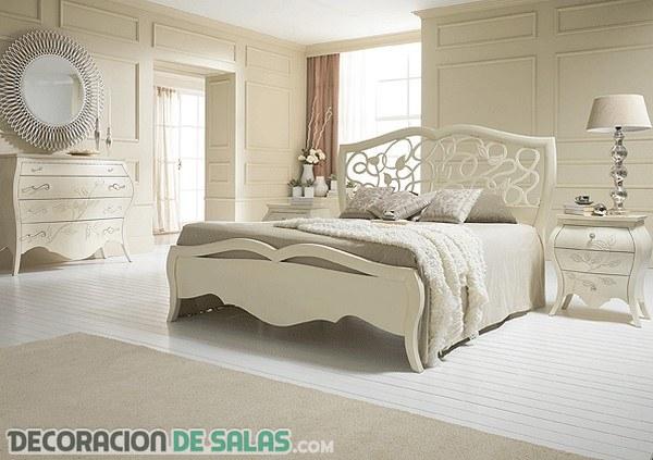 Dormitorios en blanco
