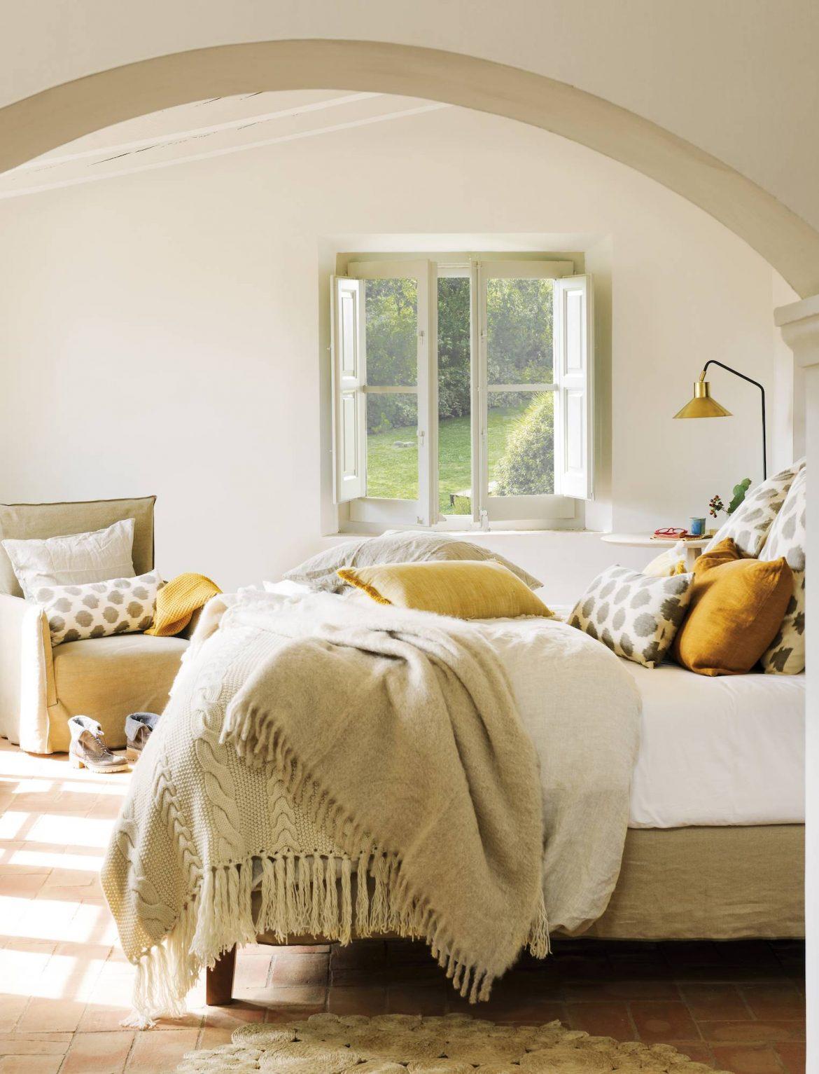 Pequeños, elegantes y modernos dormitorios