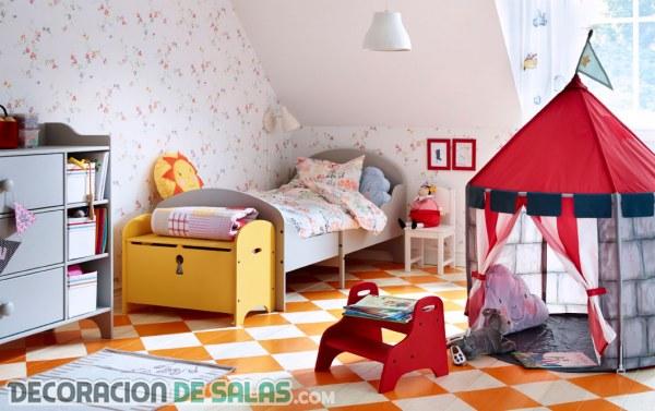 Dormitorios infantiles de la mano de Ikea