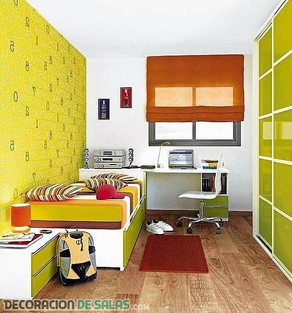 Dormitorio pequeños para niños