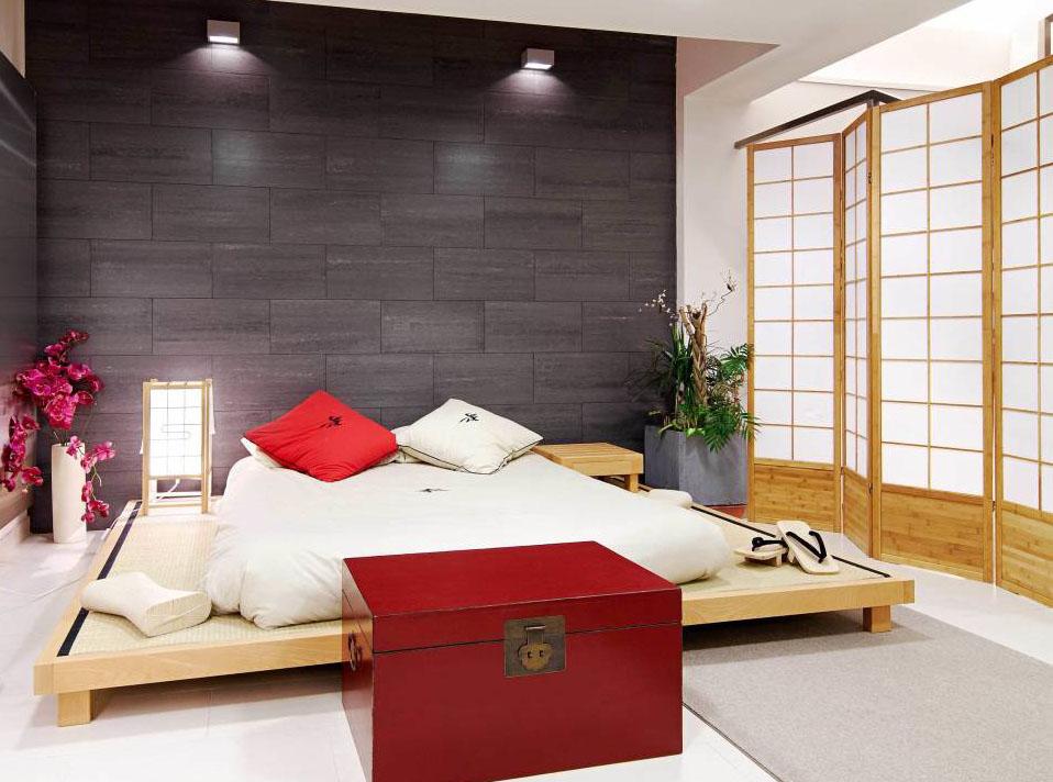 cama estilo oriental para sala