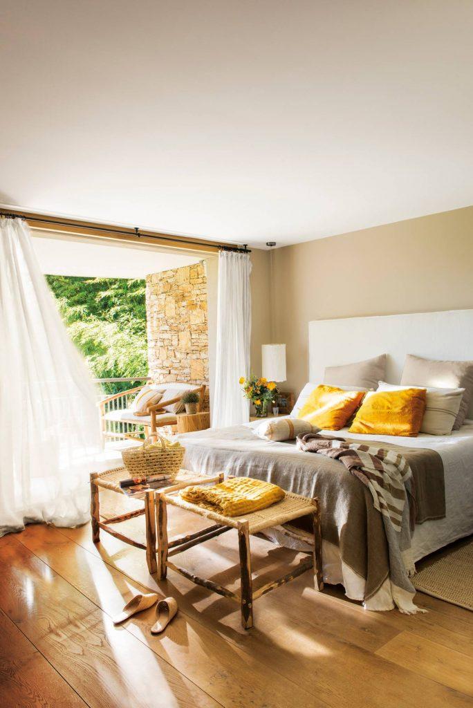 cama para dormitorios amplios