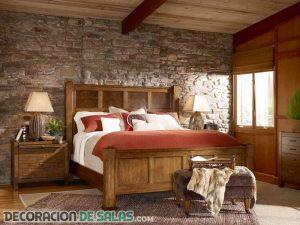 Dormitorios de matrimonio con estilo rústico
