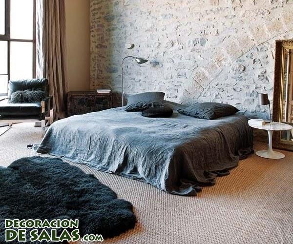 Ideas de dormitorios rústicos