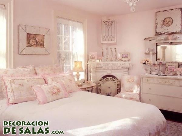 Dormitorios con decoración Shabby Chic