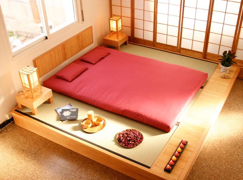 cama estilo japonesa