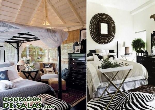 Dormitorios étnicos y modernos
