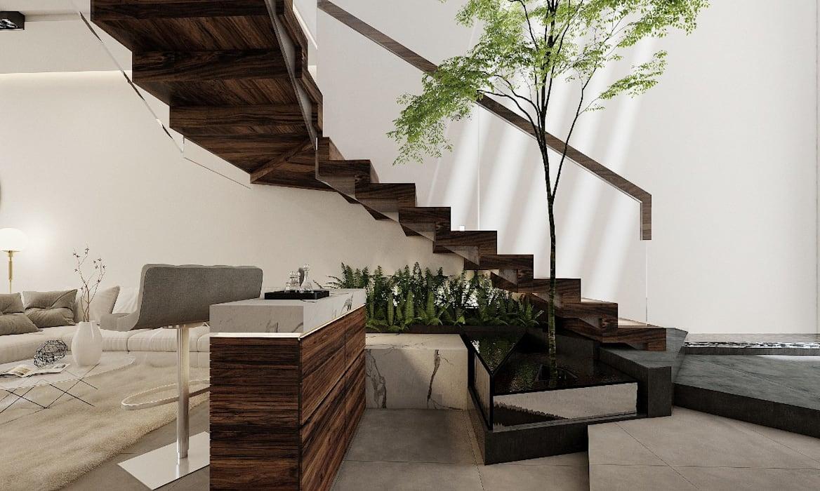 ¿Qué clase de escalera colocar en la decoración de tu casa?