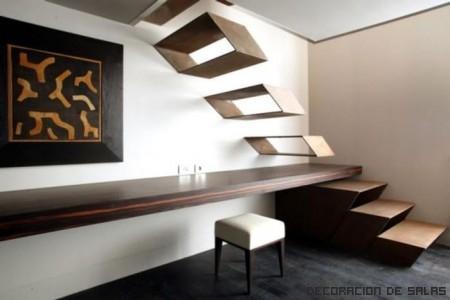 Decoración para la escalera