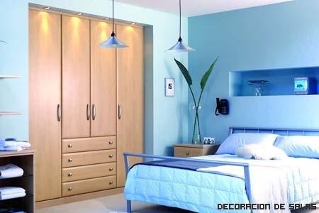 Un azul para cada estancia