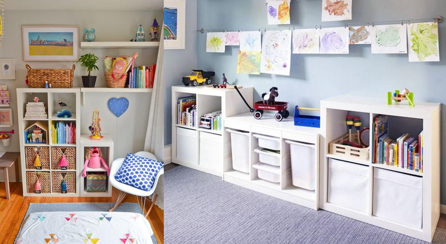 Estanter as infantiles en los dormitorios m s modernos - Dormitorios infantiles modernos ...
