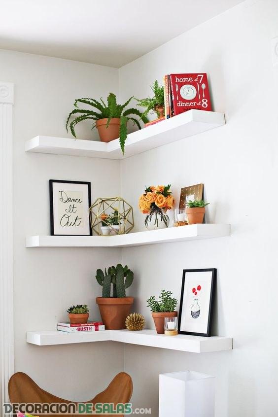 Ideas para decorar las esquinas