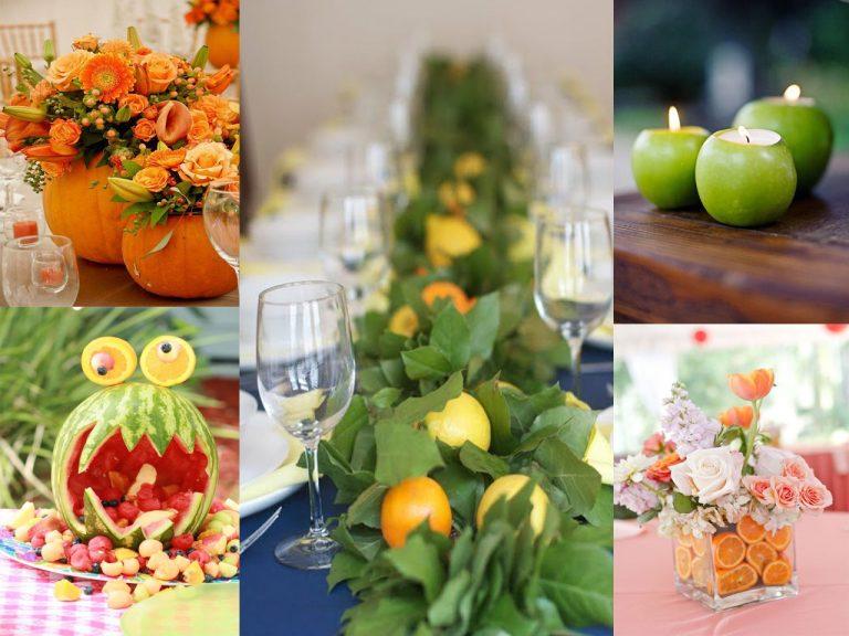 frutas decorativas comunion