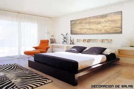 Decorar una habitación amplia