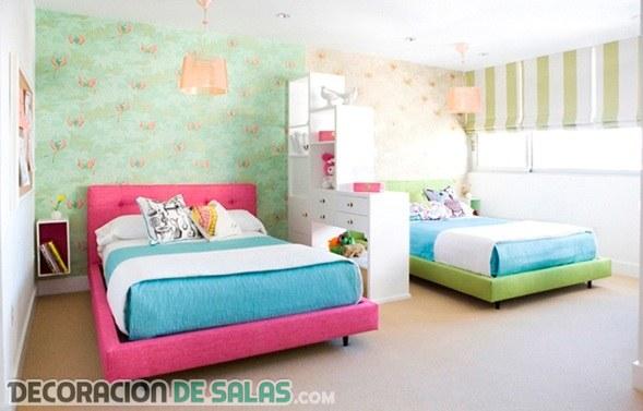 Cómo hacer una separación de ambientes en dormitorios