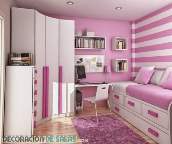 Habitaciones pequeñas para chicas