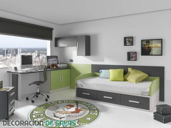Detalles básicos en las habitaciones juveniles