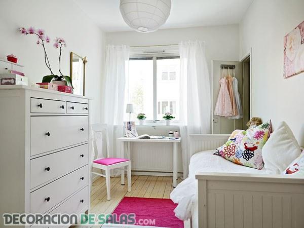 Colores perfectos para dormitorios pequeños