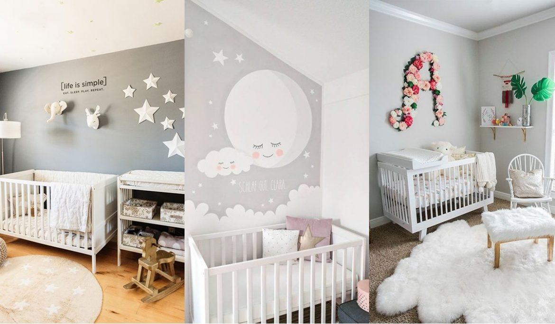 Tips para decorar la habitación del bebé