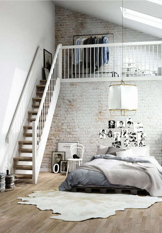decoracion industrial de duplex