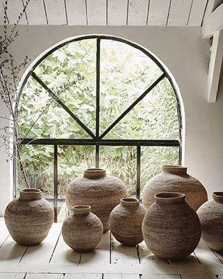 decoracion con jarrones