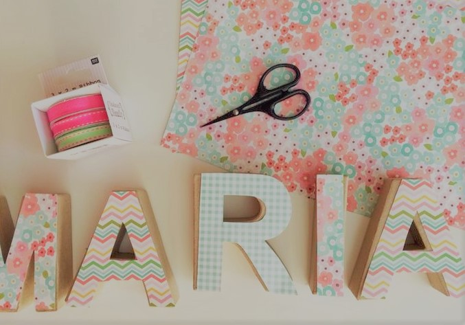 letras para el dormitorio