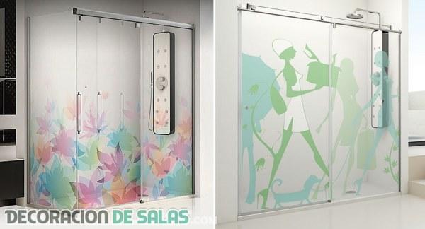 Originales mamparas de ducha por Profiltek