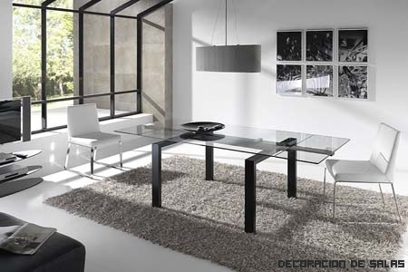 Tipos de mesas de cristal