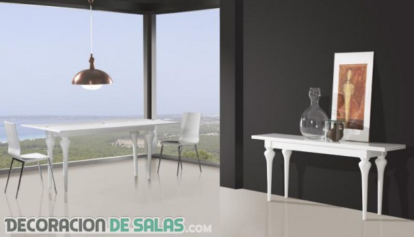 ¿Te gustan las mesas de comedor consola?