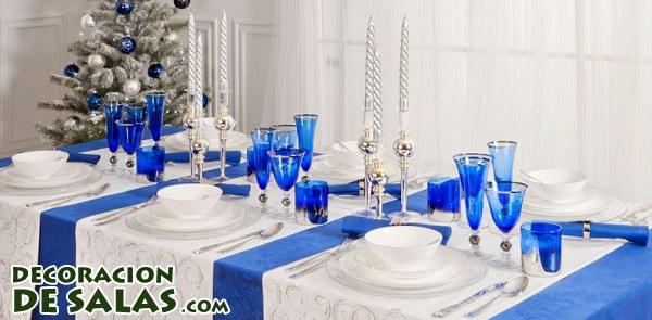 Tres Ideas De Mesas Decoradas Para Navidad Decoración De Salas