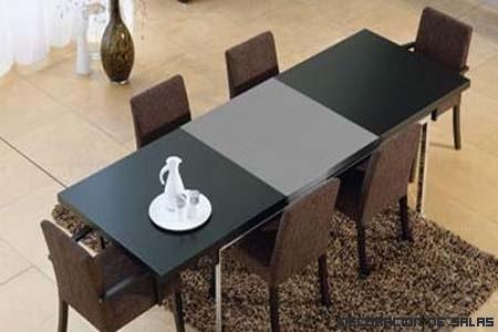 Mesas de comedor extensibles