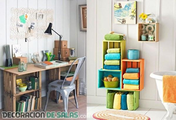 Grandes ideas recicladas para la decoración