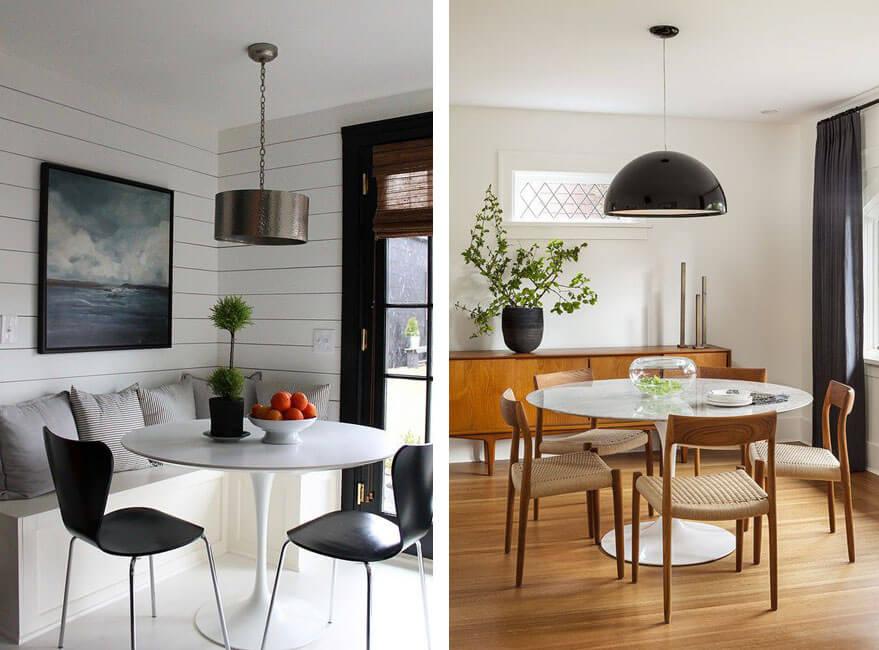 Mesas de comedor redondas, la mejor opción para tu piso ...