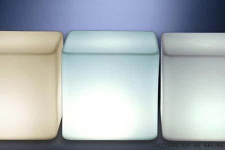 Muebles que lucen en la oscuridad