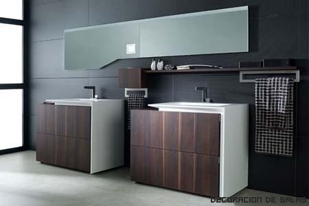Elegir los muebles para el baño