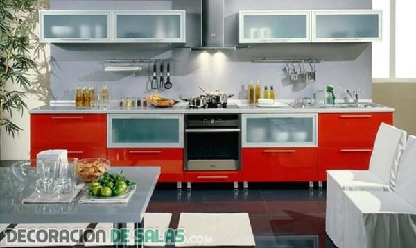 Muebles en color rojo
