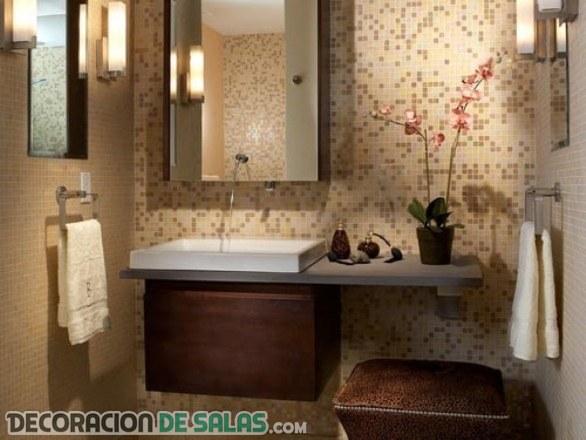Muebles de lavabo prácticos y muy modernos