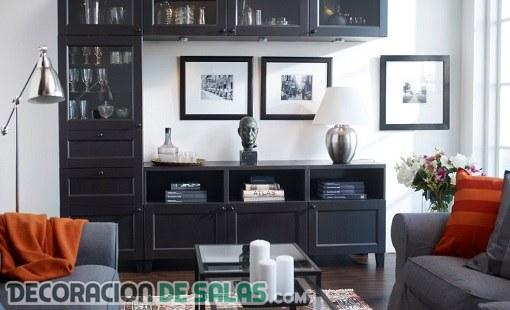 Muebles prácticos para tu salón