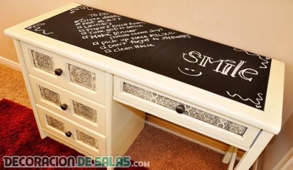 Ya puedes escribir en los muebles