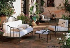 Cuidados básicos para los muebles de hierro