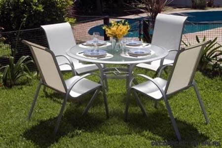 Tipos de muebles para el jardin