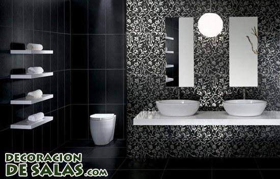 Color negro para baños