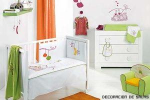 Colores vivos para el bebé