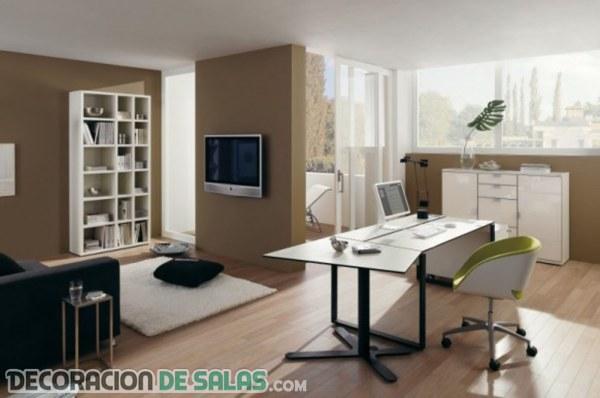 Colores recomendados para pintar la oficina o despacho