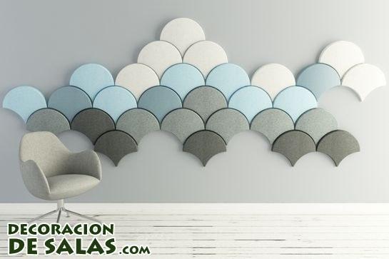 Paneles acústicos para tus paredes