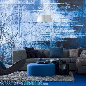 Salones en color azul