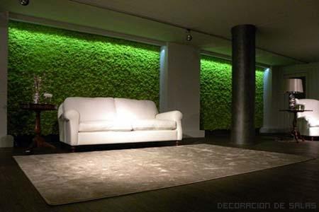 Jardines verticales en casa